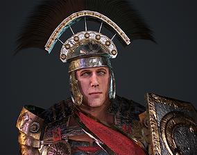 3D asset rigged Gladiator Legionary