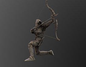 MEDIEVAL WARRIOR CONCEPT ARCHER 3D