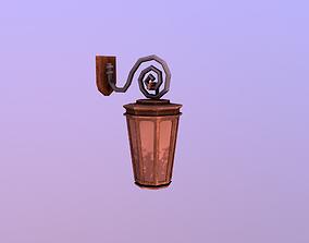 Stylize- Lantern 3D asset