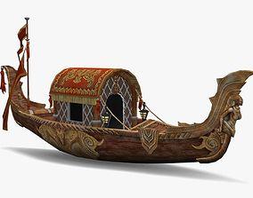 Boat Lowpoly 3D model