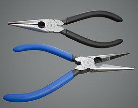 Needle Pliers 3D asset