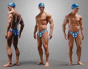 SwimmingpoolBoyB002 3D model