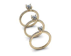 3D print model Jewelry Rings NINE RINGS 010