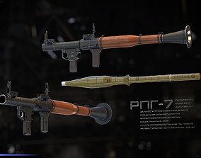 RPG-7 rpg 3D model