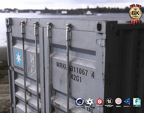 3D asset 40 ft Shipping Container