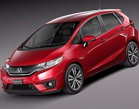 Honda Fit 2015 fit 3D