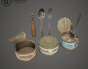 3D model Canned Fish Asset