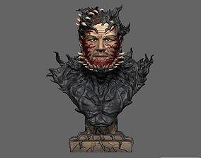 Venom Tom Hardy Bust STL File miniatures 3D print model