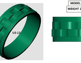 3D print model rolexring Ring rolex