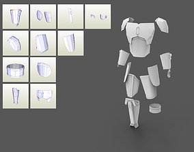 3D printable model The Mandalorian Season 2 2019 armor 3