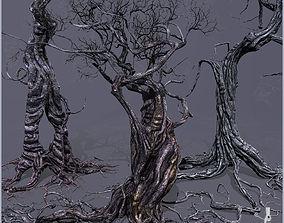 3D model 3 Smart Ancient Trees