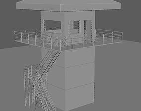 3D Watch tower