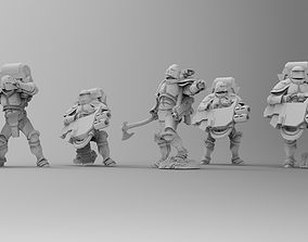 3D printable model Knights of Roma - Devastation 3