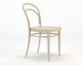 3D model Thonet Chair 214 Light Beech