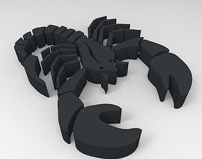 Scorpio design 3D print model