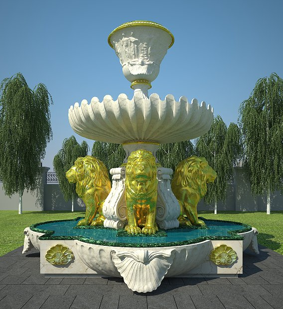 Fountain Of the Lion