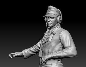 3D printable model miniature world German officer