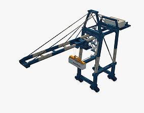 3D asset Port Container Crane