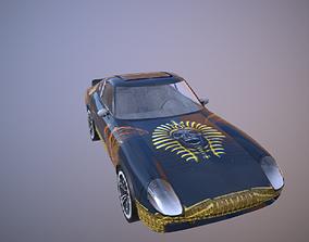 3D model pharaoh car ready for game