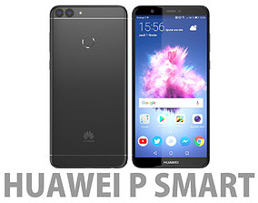 Huawei P smart Black 3D