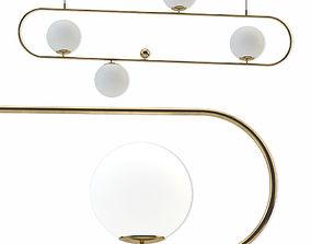 3D model lamp hoop l