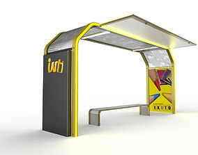 Inti Bus Stations 3D