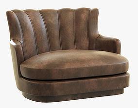 Brabbu Plum Single Sofa 3D