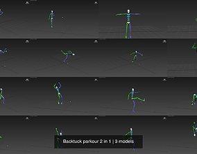 3D Backtuck parkour 2 in 1