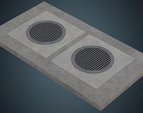 Manhole 2A 3D asset