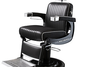3D model barber chair Belmont apollo 2