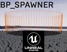 system UE4 - BP SPAWNER 3D