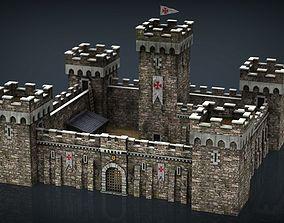 3D asset Medieval Fortress