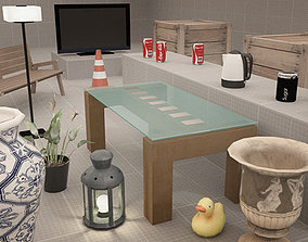 Destructible Props Pack 3D model