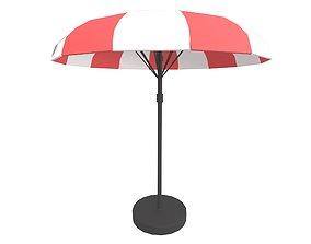 3D model Garden Umbrella v1 002