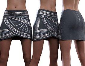 3D Stud Skirt