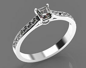 3D print model Wedding gold platinum diamod rinng