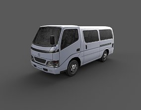 Low Poly Car - Toyota Toyo Ace Van 3D model
