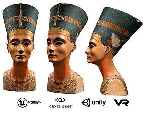 The bust of Nefertiti 3D model