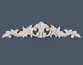 Decorative Onlay 3D model wall ornament