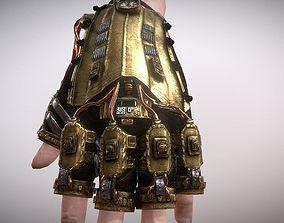 3D asset Steam Punk Glove