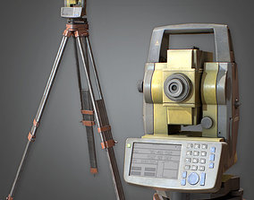 Surveyor Stand Construction 3D model