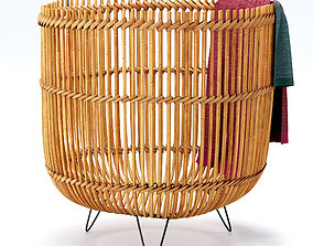 palos knitted basket 3D