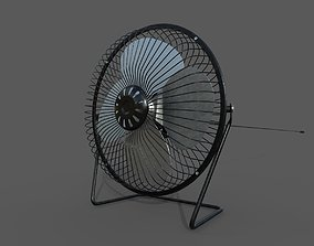Detailed Fan - SubD 3D