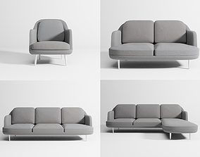 Lune sofas collection 3D