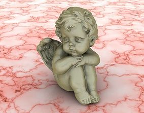 3D printable model baby angel