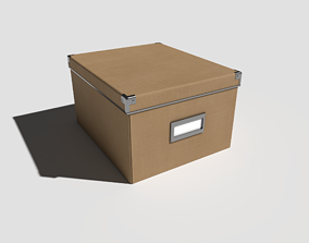 Office Box Medium 3D model