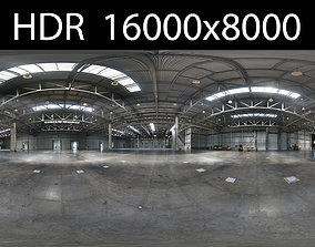 3D model Exhibition hall HDR EXR 2