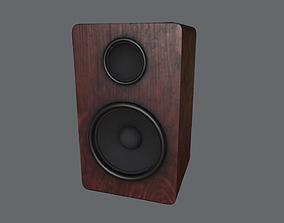 Audio Speaker V2 3D asset