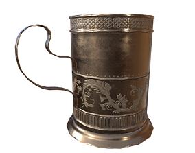 Mug Game Ready 3D model