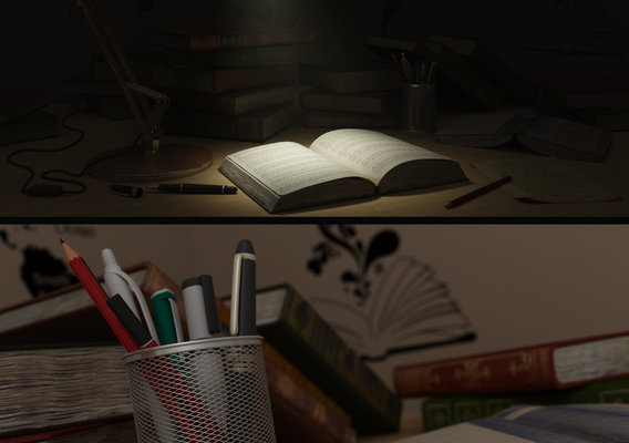 Study Table Render